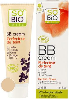 "SO'BiO étic BB Cream ""Perfecteur de Teint"" http://fataarancio.blogspot.it/2013/11/in-wishlist-questo-mese-novembre.html"