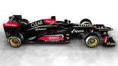 It's F1 car launch season...  The 2013 Lotus F1 Car.