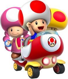 Toad and Toadette - MK: Double Dash