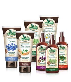 HERBAL CARE naturalne odżywki ziołowe do włosów - Farmona Laboratorium Kosmetyków Naturalnych