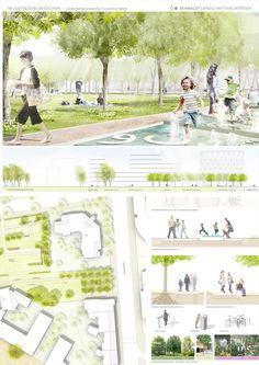 Rehwaldt Landschaftsarchitekten (2016): Neugestaltung des Besselparks, Berlin (DE), via competitionline.com