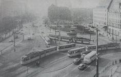 1968 Tröndlinring vor dem Umbau Paris Skyline, Retro, Travel, Cities, Leipzig, City, Pictures, Voyage, Viajes