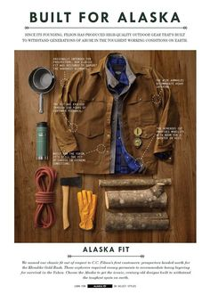 C.C FILSON STYLE & FUNCTION FOR THE TRUE OUTDOORSMEN.