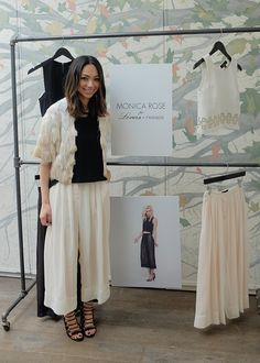 Celebrity stylist, Monica Rose, debuted her collection for Lovers + Friends at Spago Beverly Hills. #SpagoBH #monicarose