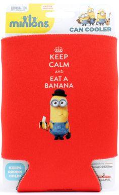 Keep Calm and Eat a Banana Can Cooler