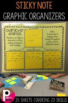 Interactive graphic organizers can be used during your reading block! Reading Strategies, Reading Activities, Reading Skills, Guided Reading, Teaching Reading, Reading Comprehension, Comprehension Strategies, Reading Resources, Stem Activities