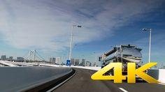 Driving from Toyosu to Ueno - Tokyo - 豊洲~上野 - 4K Ultra HD