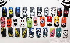 Halloween Nails - DIY Nail Art Designs