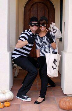 Bank robbers costume