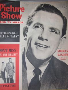 Picture Show & TV Mirror Magazine, February 1960 - (Norman Wisdom in Follow A Star)
