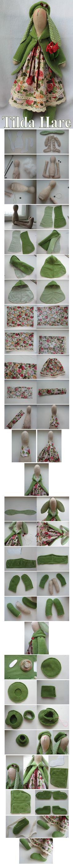 Tilda Hare Pattern