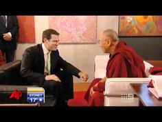 Raw Video: Anchor's Dalai Lama Joke Falls Flat