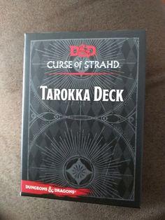 curse of strahd tarokka deck pdf