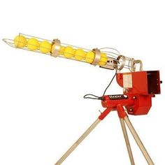 Heater Real Softball Pitching Machine - New with Ball Feeder