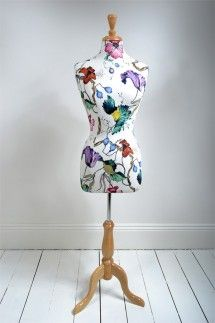 French floral mannequin
