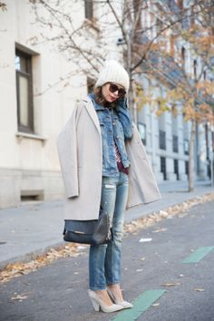 30 Ways to Wear Your Denim Jacket This Fall | StyleCaster