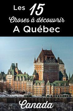 Visit Quebec – Travel and Tourism Trends 2019 Old Quebec, Quebec City, Voyage Canada, Montreal Travel, Where Is Bora Bora, Tips & Tricks, New Brunswick, Banff National Park, Canada Travel