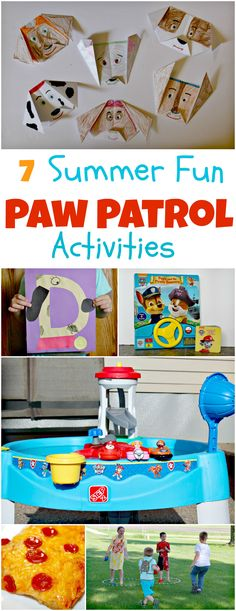 7 Summer-Fun Paw Patrol Activities !