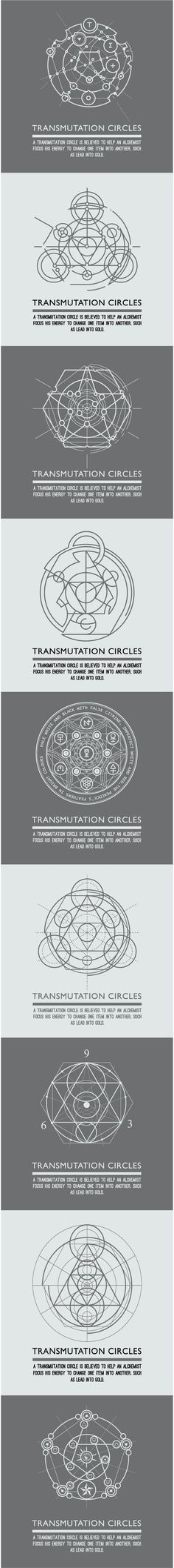Transmutation circles - alchemical symbol - sacred geometry - can be used in your design - the art of tattooing - the design of logos - corporate identity - as a poster or a badge. www.shutterstock.com/gallery-2120018p1.html