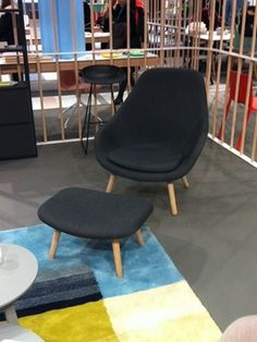 HAY About a lounge chair high - Lunehjem.no Nettbutikk