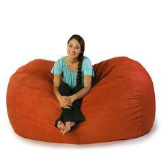 Found it at Wayfair - Jaxx Jaxx Bean Bag Sofa - Color: Microsuede Orangehttp://www.wayfair.com/Jaxx-Jaxx-Bean-Bag-Sofa-10813-108134-JAX1001.html?refid=SBP