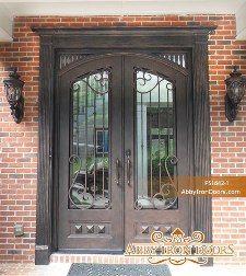 Custom and Decorative Front Entry Doors | Abby Iron Doors