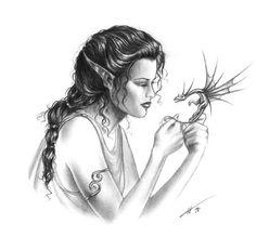 laminas de hadas, sirenas, duendes y otras cosillas.... | Aprender manualidades es facilisimo.com