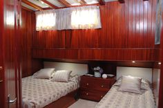 Luxury MATINA - Motor sailer Check more at https://eastmedyachting.co.uk/yachts/matina-motor-sailer/