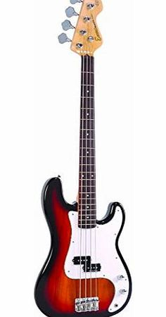 Encore EBP-E4SB Elec. Bass Guitar Outfit - Sunburst The Encore EBP-E4SB Blaster Bass Guitar Pack is the ideal introduction to bass playing, with rock solid bass performance, precise tone and superb playing dynamics. Comple (Barcode EAN = 5051548002327) http://www.comparestoreprices.co.uk/bass-guitars/encore-ebp-e4sb-elec-bass-guitar-outfit--sunburst.asp