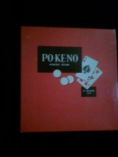 PO-KE-NO card keno game by timemachineplus on Etsy