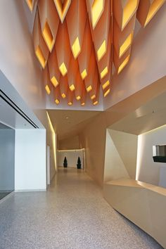 Look Up: 7 Sculptural Wood Ceilings That Undulate and Flow - Architizer Journal