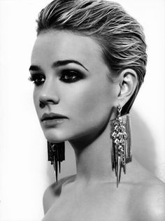 Carey Mulligan - looking amazing wish I could do this with my hair