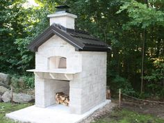 cottage wood pizza oven