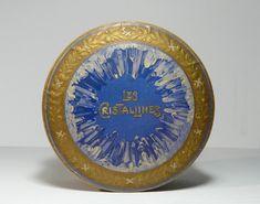 Korai Gerbeaud Les Cristalines csokoládé doboz / Vintage Chocolate Box, Candy Box