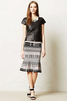 Anthropologie - Drammen Pencil Skirt