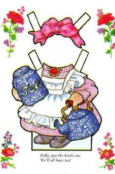 Bildergebnis für animal paper doll nursery rhyme
