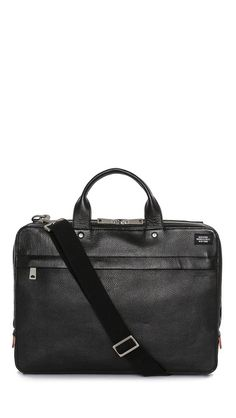 b5c203d27d Jack Spade Mason Leather Slim Briefcase Jack Spade