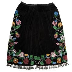 Anishinaabe [Ojibwe] Beaded Skirt from a Minnesota Collection  - Price Estimate: $600 - $800
