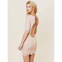 Nightcap Spanish Lace Priscilla Dress ($130) found on Polyvore