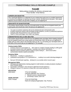 list skills on resume examples