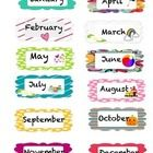 Months of the Year, Birthday Charts Free Now on My New TPT Store!  Please check it out! Jennifer Moulton
