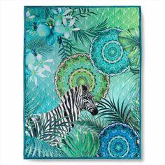 Home oboustranná deka Hip Talisa cm - Doplňky do ložnice Mandala, Kids Rugs, Artwork, Prints, Decor, Products, Tela, Aqua Blue, Color Coordination