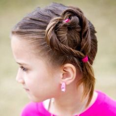 Thanks Pinterest I love the idea for my daughters Valentine Heart hair!! she was a big hit at school!