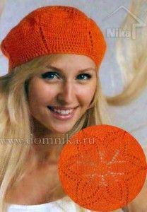 be31ddde5cef3 Verano toma esquema crochet calado Touca
