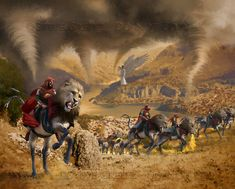 REVELATION — Creitz Illustration Studio Heaven Art, Prophetic Art, Trumpet, Camel, Religion, Bible, God, Studio, Illustration