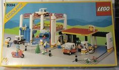 Lego 6394 - Metro Park & Service Tower - 1988