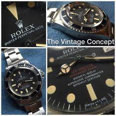 """**New Arrival** Rolex DRSD MK III 1665 WhatsApp: +852-96991000 Email: info@thevintageconcept.com"""