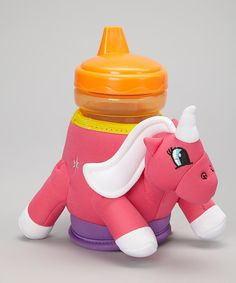 Take a look at the ZooMoos Sparkle the Unicorn Insulated Cup Holder & Sippy Cup on #zulily today!