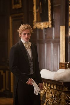 Aaron Taylor-Johnson as Count Vronsky in Anna Karenina (2012).
