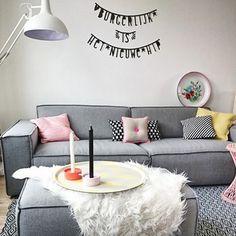 Check Little Deer voor wordbanners in zwart en pastel! #Wordbanner #Inspiratie Buy it at www.littledeer.nl vanaf € 11,95